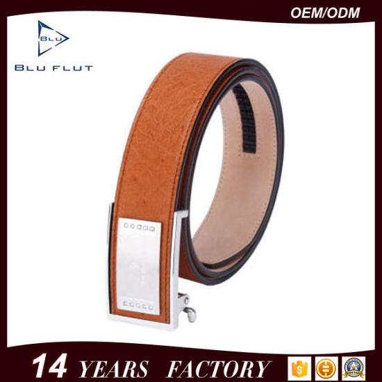 Guangzhou Factory Supply Custom Brand Logo Design Genuine Leather Belts
