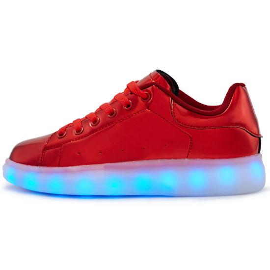 319af5a858f9 China New Fashion Kids LED Shoes