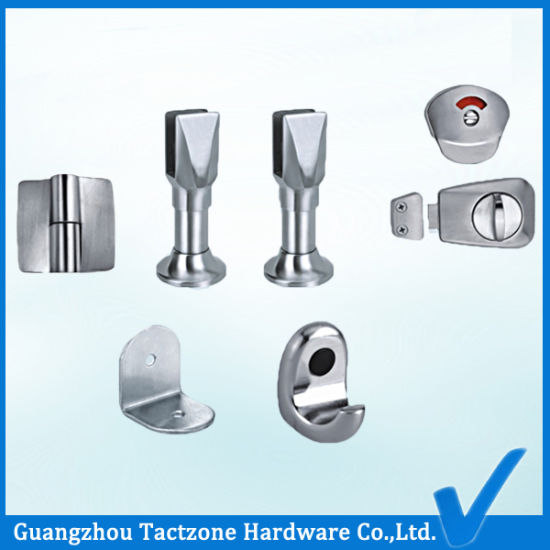 Rust Proof Toilet Partition Bathroom Cubicle 304 Stainless Steel Accessories