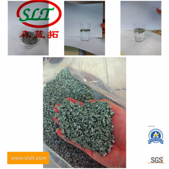 Long-Term Spot Supply PP Recycled Particles Green and Black