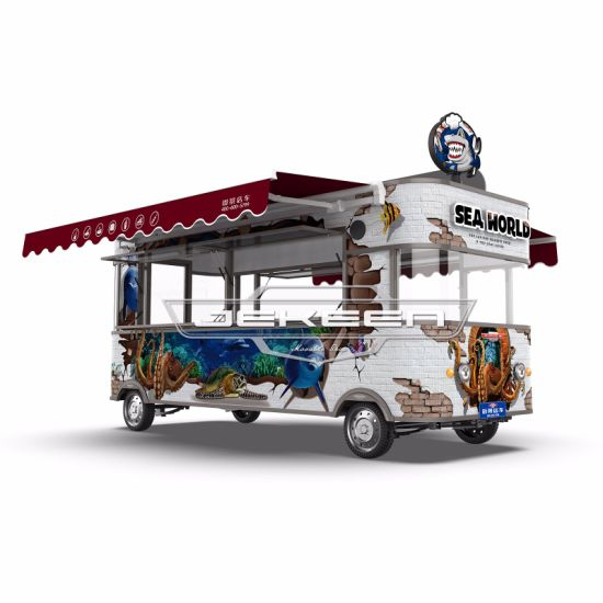 Jekeen New Customized Food Truck with Snack Machines of a-50