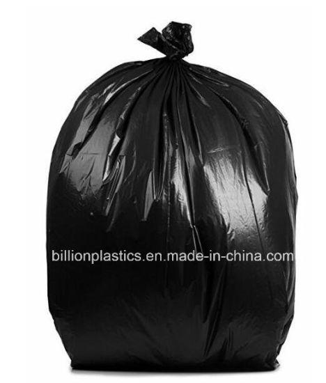 FF-17071701 HDPE Black High Quality Plastic Heavy Duty Garden Bag