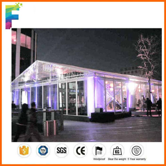 Transparent Roof Tent Wedding Party 10X10 20X20