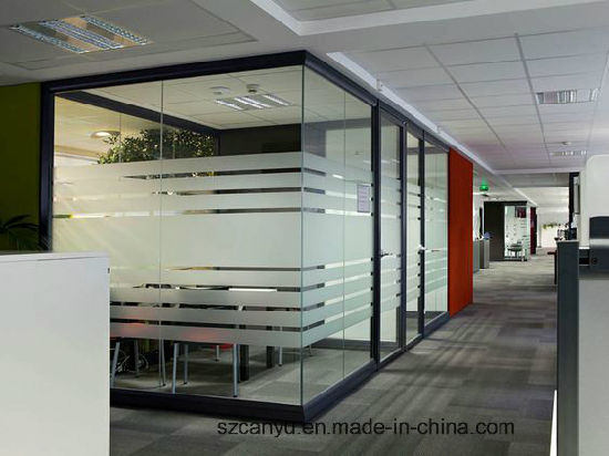 Australia Standard Double Tempered Glass Soundproof Office Partition Door pictures & photos