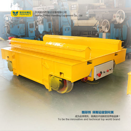 Easy Operated High Speed Coil Handling Trailer for Heavy Industry on Rails pictures & photos