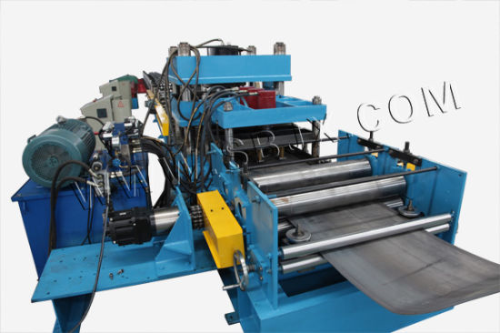 Three Waves Guardrail Roll Forming Machine with Conveyor Table