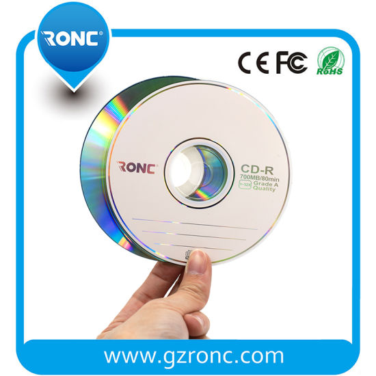 50PCS Cake Box Pack Blank CD-R 52X 700MB CD-R pictures & photos