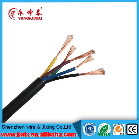 2, 3, 4, 5core H05VV-F Rvv Cable with SGS UL Approved for North American Market pictures & photos