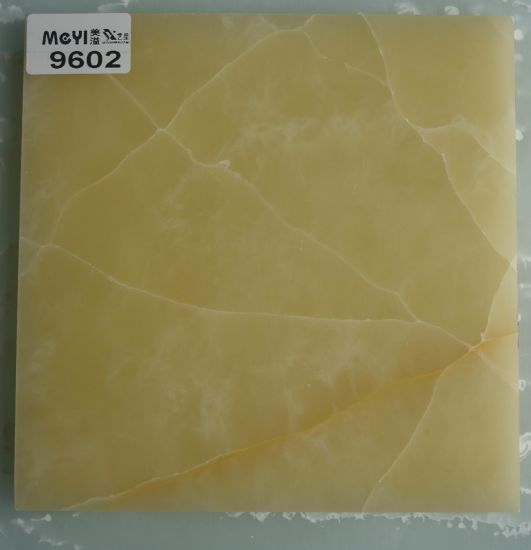 China Colorful Transparency Artificial Marble SlabCrack OnyxFaux - Fake marble slab