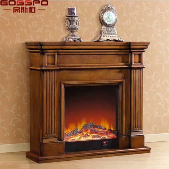 china factory wholesale indoor freestanding wood fireplace mantel rh gosspo en made in china com