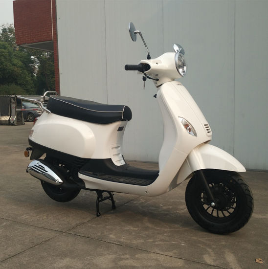 50cc Retro Scooter Vespa Style with EEC