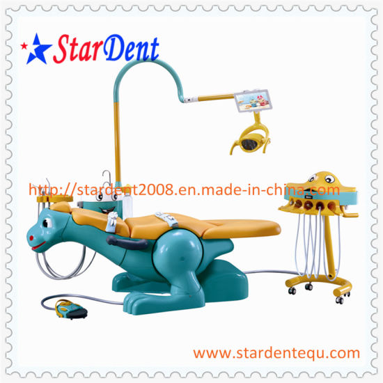 Kids Dental Chair of Dental Unit pictures & photos
