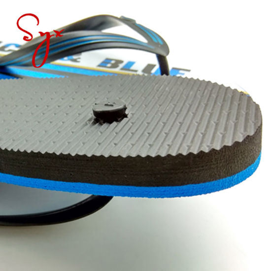 2019 New Design Summer Stripe Printing Sandals Slippers