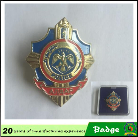 Customized Design Metal Pin Badges for Clothes pictures & photos