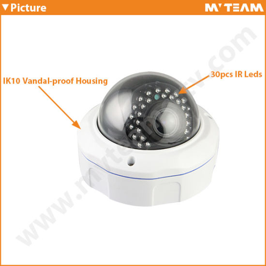 Network Video Camera 1024p 1.3MP Low Price IP Camera with IR Cut pictures & photos