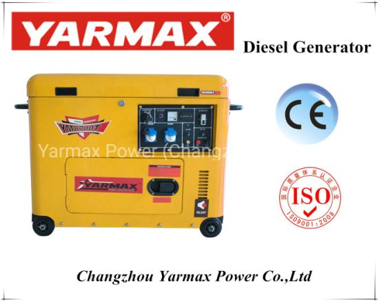 China Unique Design Clamshell Silent Diesel Generator with Fast