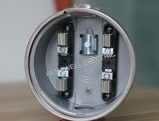 china 100a round meter socket of ansi standard china. Black Bedroom Furniture Sets. Home Design Ideas
