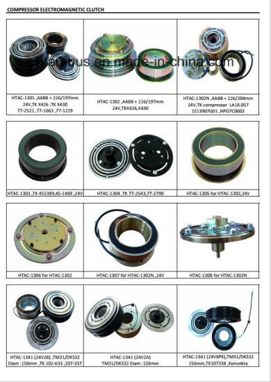 Bock Fkx40 Compressor Magnet Clutch China Supplier pictures & photos