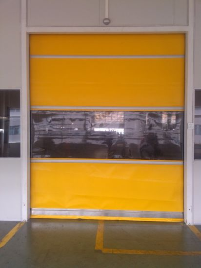 China Interior Fire Rated Motorized High Speed Rolling Up Shutter