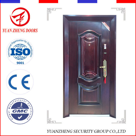 New Edge Wrought Iron Interior Security Door
