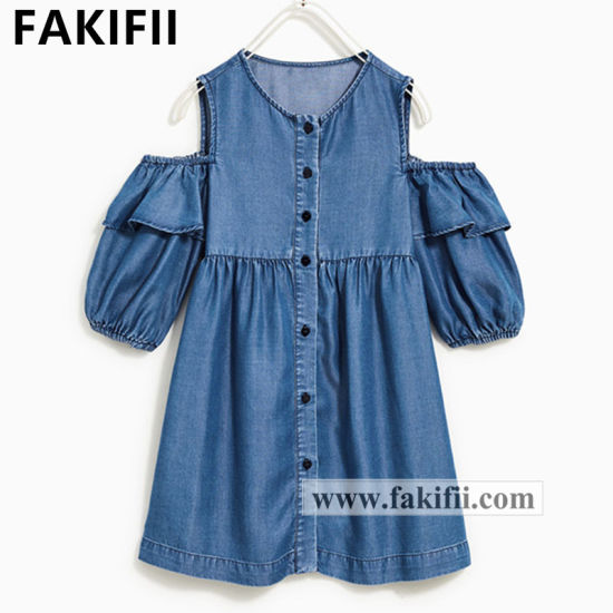 2020 Newest Style Brand Designed ODM Baby Garment Girl Fashion Cotton Beautiful Children Dress