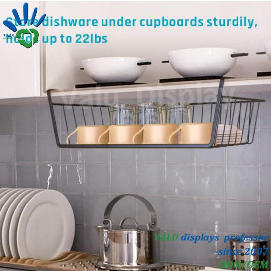 China Under Shelf Table Storage Basket, Kitchen Cabinet Hanging Rack