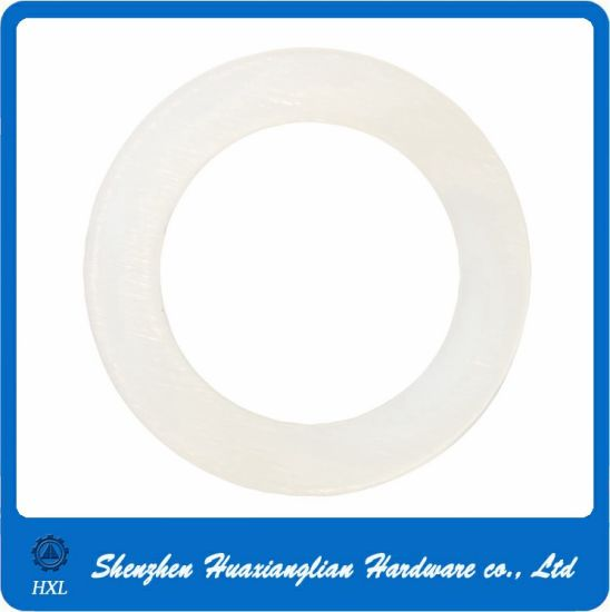 M2/M3/M4/M5/M6/M8/M10 Black White Thin Flat Plastic Nylon Washers pictures & photos