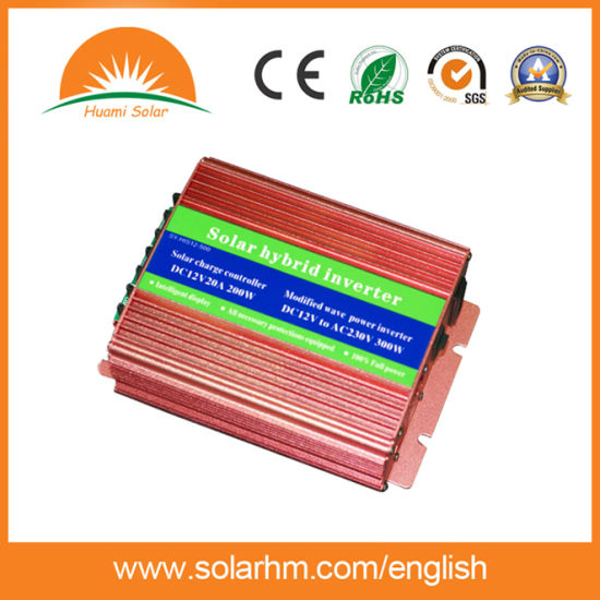(HM-24-1600Y) 24V1600W Solar Inverter with 20A Controller Inside/ City Power Charge pictures & photos