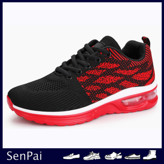 Flyknit Branded Shoes Casual Breathable Sneakers Walking Running Footwear pictures & photos