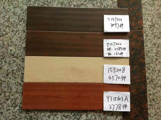 China Cheap Porcelain Floor Tile Wood Look Tiles For Stock Flooring