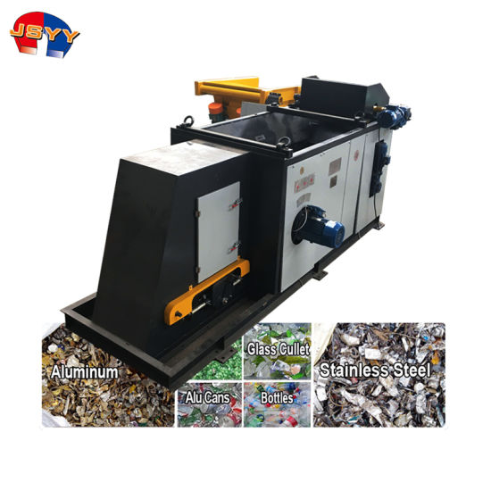 China Leading Eddy Current Light Metals Recycling Machine for End of Life Vehicles Process City Garbage Sorting Machine