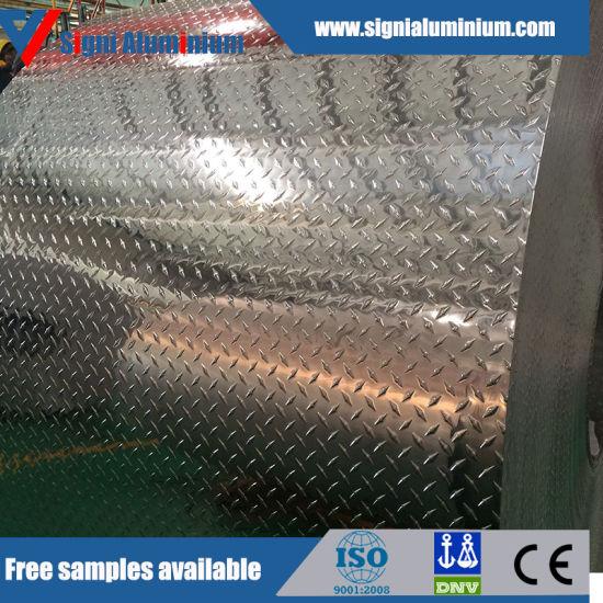 Bright Finish 6061t6 Aluminum Tread Checkered Plate/Sheet