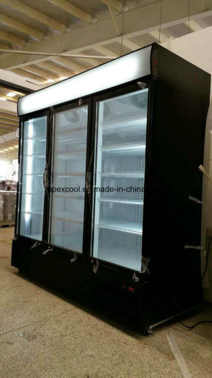 Commercial Beverage Display Cooler/Drinks Display Fridge/Supermarket Display Refrigerator pictures & photos