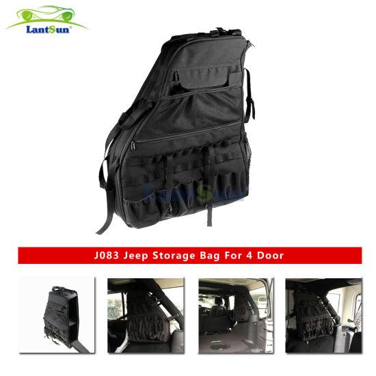 Pair Lantsun J083 Heavy Duty Black for Jeep Side Storage Bags Fits Jeep Wrangler Jk 4 Door 2007+  sc 1 st  Shenzhen Lantsun Electronic Technology Co. Ltd. & China Pair Lantsun J083 Heavy Duty Black for Jeep Side Storage Bags ...