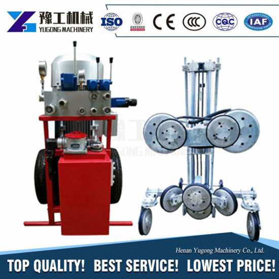 China Diamond Wire Saw Cutting Machine Wire Rope Saw for Stone ...