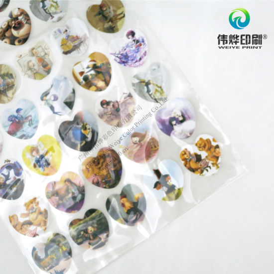Hot Selling Round Paper Sticker Printing for Gifts pictures & photos