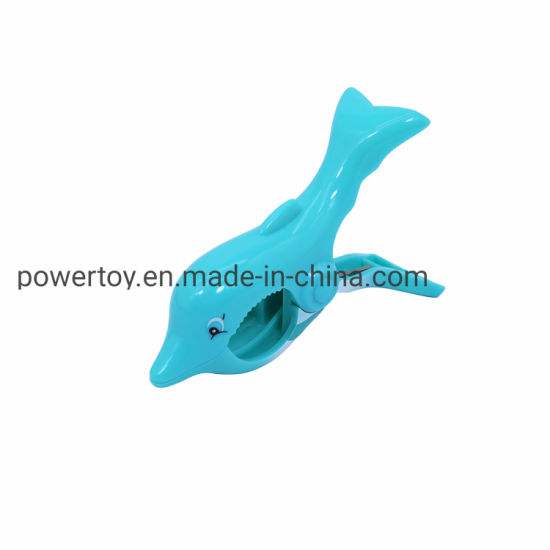 Plastic Dolphin Beach Towel Clips for Chair