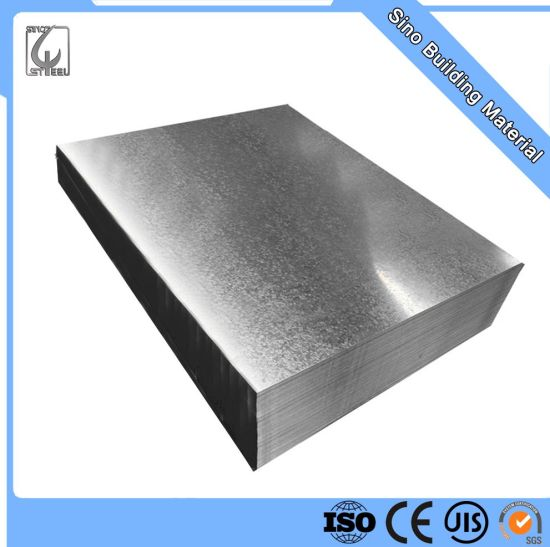 Z55 16gauge Galvanized Steel Sheet with High Quality
