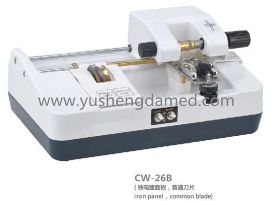 High Quality Lens Slotting Machine Made in China Cw-24b pictures & photos