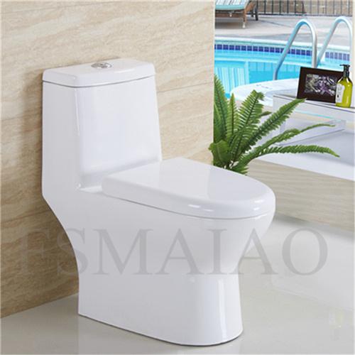 Bathroom Sanitary Wares Ceramic One Piece Toilet (8109)