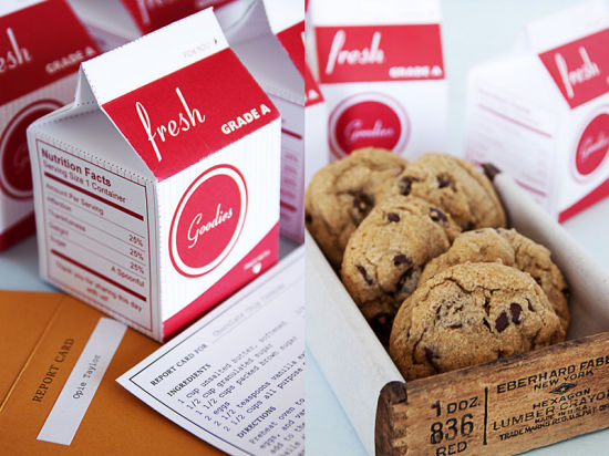 Fashion Paper Cardboard Milk Cookies Packing Gift Box pictures & photos