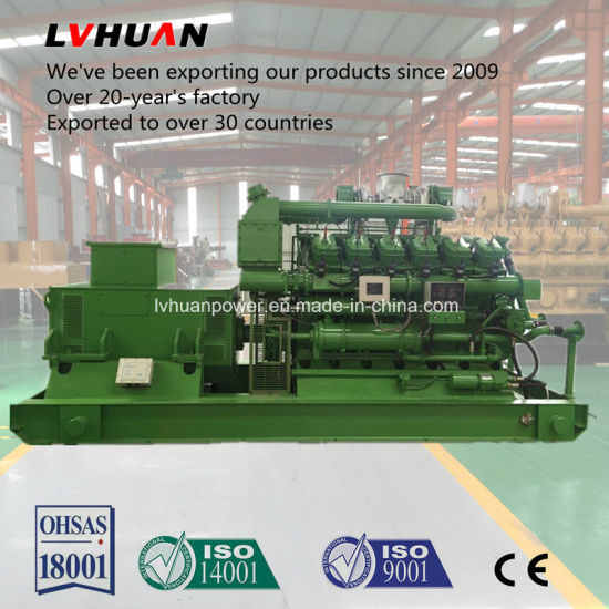 China Biogas Engine Motor CHP Generator 20kw - 500kw Biogas Power