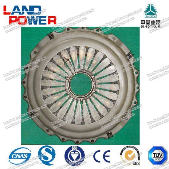 Az9725160110 Genuine Clutch Pressure Plate HOWO Heavy Duty Truck Parts with SGS Certification