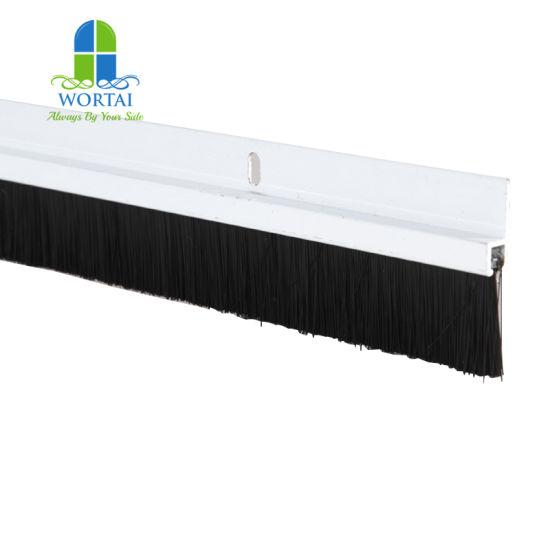 Home Door Seal Brush Strip Bottom Windproof Vinyl Door Sweep