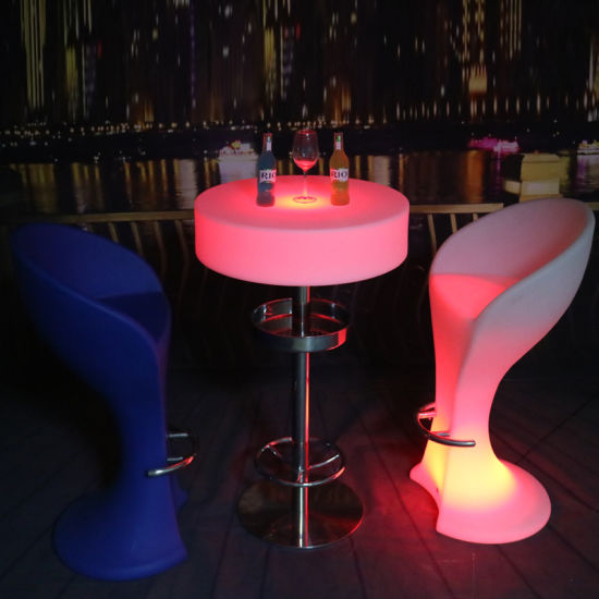 Rechargeable Led Bar Table Pub Tables