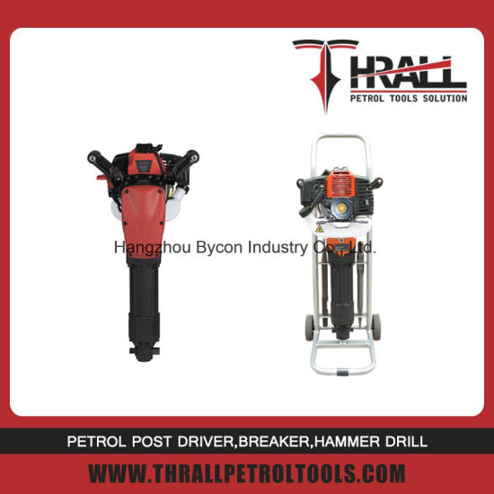 DGH-49 2 stroke gasoline rock drill jack hammer pavement breaker pictures & photos