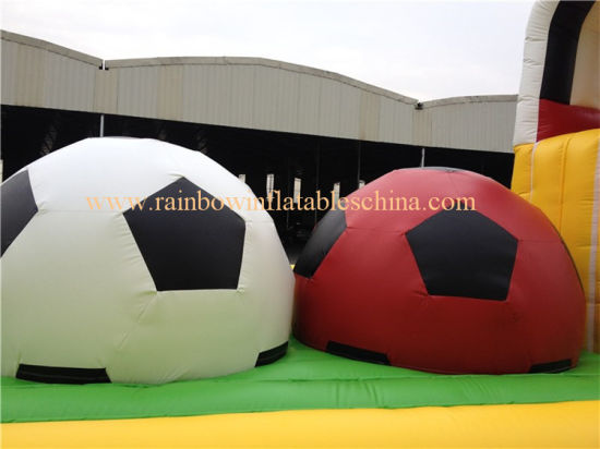 Inflatable Running Football Game Sports Games (RB9004) pictures & photos