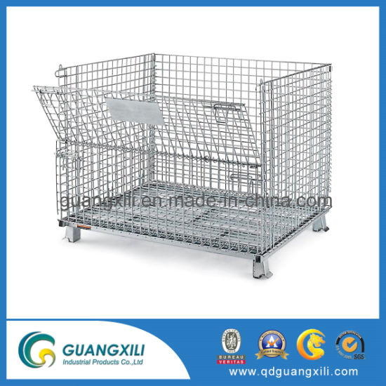 Heavy Duty Equipment Galvanized Metal Storage Boxes Cages pictures & photos