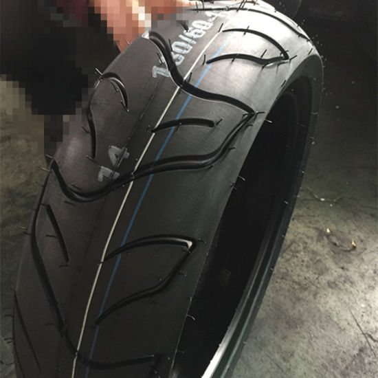 Asian Top Quality Rubber Motorcycle Tire 130/60-13 pictures & photos