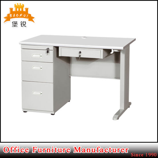 MDF Office Computer Desk with Mobile Drawer Cabinet pictures & photos